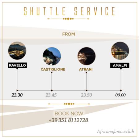 Shuttle Service - Amalfi